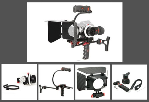 CAPA Z2 Set Professional Camera Rig Support Shoulder