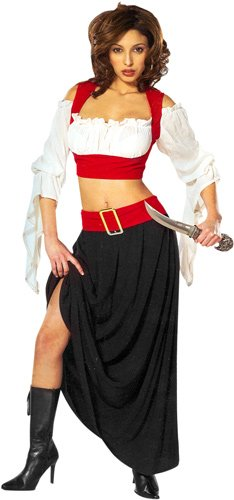 Adult's Renaissance Pirate Costume (Sz: Small 6-8)