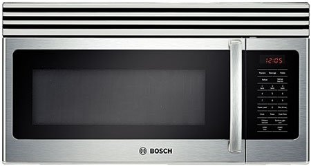 Bosch : HMV3051U 1.6 cu. ft. 300 Series Over the Range Microwave - Stainless Steel