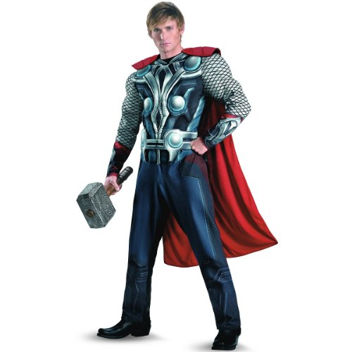 Thor Classic Muscle Costume - XX-Large - Chest Size 50-52