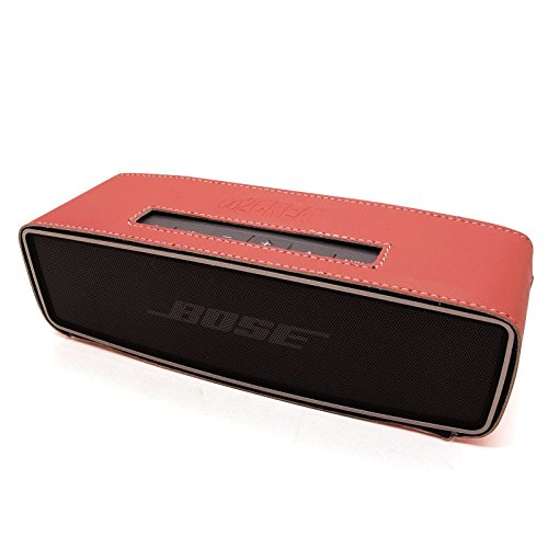 Co2Crea(Tm) Pink Pu Leather Case Skin Sleeve Bumper Protective Cover For Bose Soundlink Mini Wireless Bluetooth Speaker