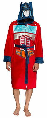 Transformers Optimus Prime Red Hooded Robe