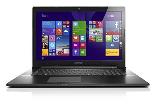Lenovo G70-80 43,9 cm (17,3 Zoll HD+) Multimedia Notebook (Intel Core i5-5200U, 2,7GHz, 4GB RAM, 128GB SSD, NVIDIA GeForce 920M 2G, DVD-Brenner, Windows 8.1) schwarz