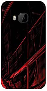 Timpax protective Armor Hard Bumper Back Case Cover. Multicolor printed on 3 Dimensional case with latest & finest graphic design art. Compatible with only HTC - M9. Design No :TDZ-20593