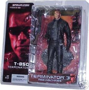 Picture of McFarlane T3: Rise of the Machines : T-850 Terminator Battle Damaged Variant Action Figure (B000MNGAF4) (McFarlane Action Figures)