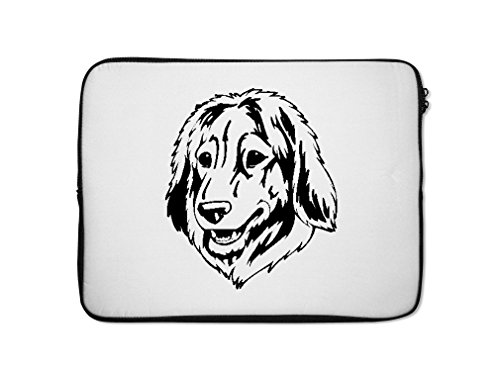 estrela-mountain-dog-head-black-laptop-kindle-sleeve-case-bag-7-inch