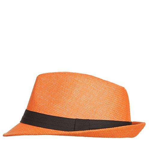 Cappello in paglia ARANCIO