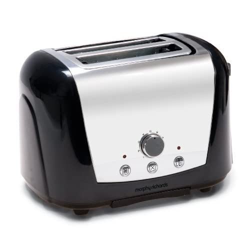 Morphy Richards Accents 44261 2 Slice Toaster - Black