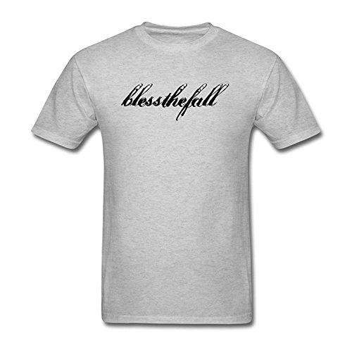 Men's Blessthefall Logo Short Sleeve T Shirt Grey
