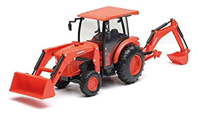 B/O 1:18 Kubota Farm Tractor W/Loader And Backhoe(L&S)