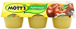 Motts Variety Pack, 24-Orginal Apple sauce,12-Cinnamon Sauce Cup, 9-Pound