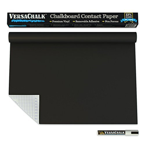 Chalkboard-Contact-Paper-BONUS-Chalk-Marker-18-W-x-96-L-8-FEET-33-more-than-other-brands-Size-18-Inches-Wide-Model-VC105-RG-Tools-Hardware-store