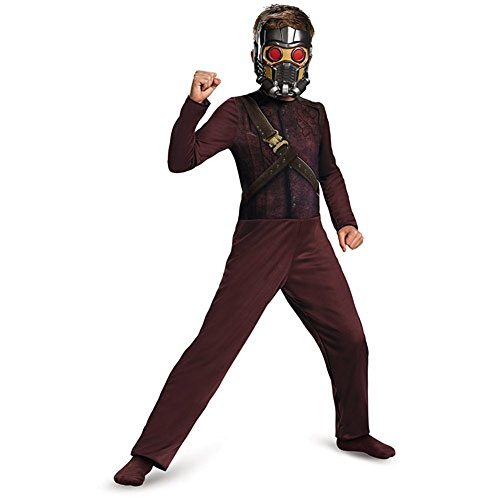 Marvel Guardians of the Galaxy Star Lord Childs Costume (M (7-8))