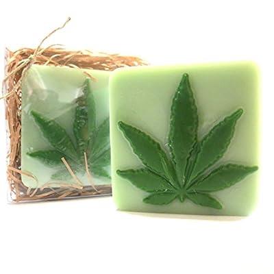 Marijuana Leaf Pot Leaf Bar Chocolate Candy Mold 1343