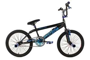 "KS Cycling Dystopia 591B BMX freestyle V Brake Noir 20"""