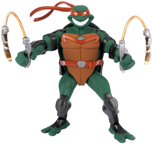 Buy Low Price Playmates Teenage Mutant Ninja Turtles: Fast Forward 5″ Michelangelo Action Figure (B000KWSGPE)