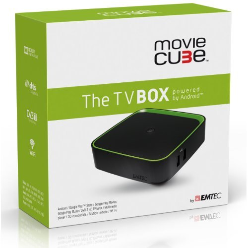 EMTEC Movie Cube F400 The TV Box