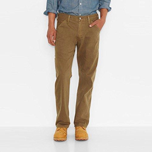 Levi's Men's 569 Loose Straight Leg Carpenter Pant, Cougar Slub Twill, 29x30