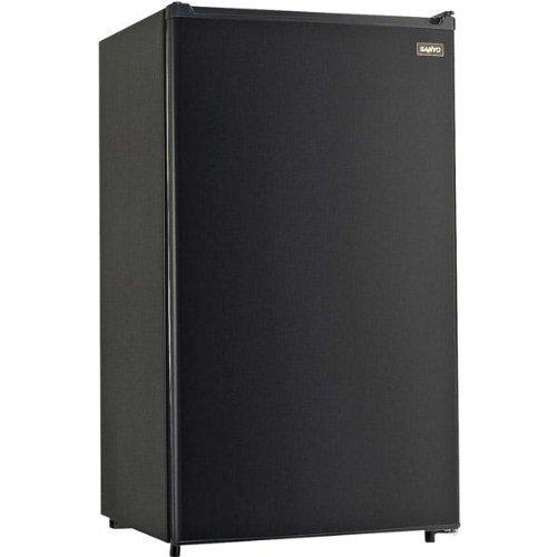 Sanyo SR-3620K 3.6-Cubic-Foot Refrigerator, Black