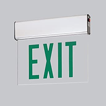 Wall Mounted Exit Lights : Wall mounted exit signs Industrial electronic components