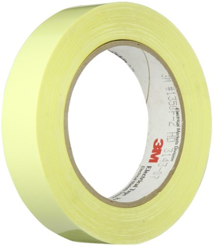 Tapecase 1350F-2Y 1In X 72Yd Yellow Electrical Tape (1 Roll)