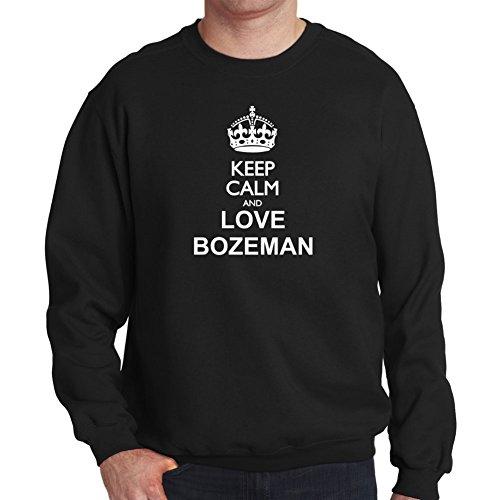 Felpa Keep calm and love Bozeman