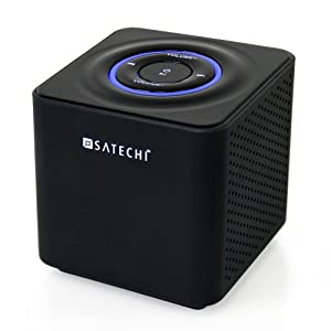 Satechi ST-69BTS Audio Cube Portable Bluetooth Speaker System for iPhone / Android Smartphones / iPad / Tablets / Macbook / Notebooks / Samsung Galaxy / Nokia Lumia / HTC and other smartphones and tablets