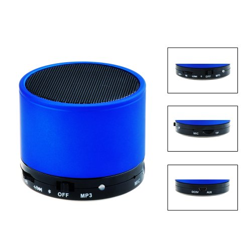 Victsing Mini A2Dp Bluetooth Bass Speaker Wirelss Stereo Music Adapter With Mic For Apple Iphone 5S 5C 5 4S 4 Ipod Ipad 4 3 2 Ipad Mini Samsung Galaxy S4 S3 S2 S1 Note 3 Note 2 Sony Xperia Z Htc One M7 Nokia Blackberry Z10 Smartphones Mp3/Mp4 Player Latop