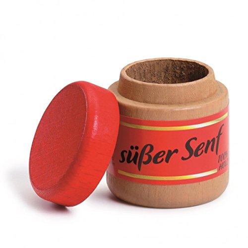 Erzi 4.3 x 3.8 cm Wooden Grocery Shop Sweet Mustard Toy