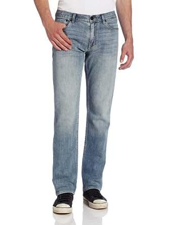 Calvin Klein Jeans Men's Low-rise Slim Fit Straight-Leg Serene Jeans, Light Wash, 36x32