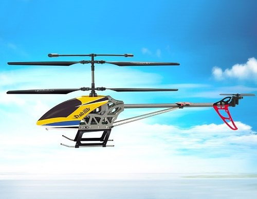 SongYang 3.5-Channel Remote Control Helicopter with Gyro (Yellow)