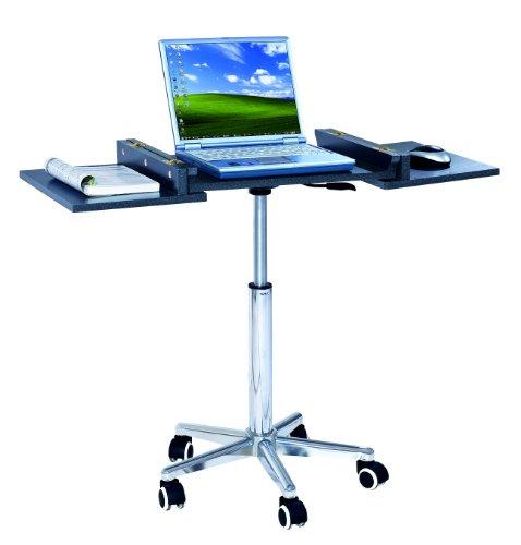 Sharper Image SIB006-GPH06, Foldable Table Laptop Cart