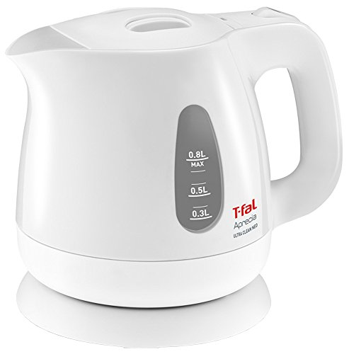 T-FAL electric kettle 0.8L Apureshia Ultra Clean neo Pearl White KO3901JP (Kettle T Fal compare prices)