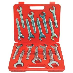 Grip 15 pc Service Wrench Set MM