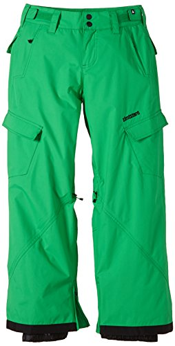 zimtstern-pantaloni-da-snowboard-bambino-kix-verde-green-m
