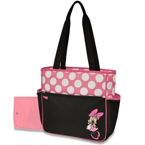 Disney Polka Dot Tote, Minnie - 1