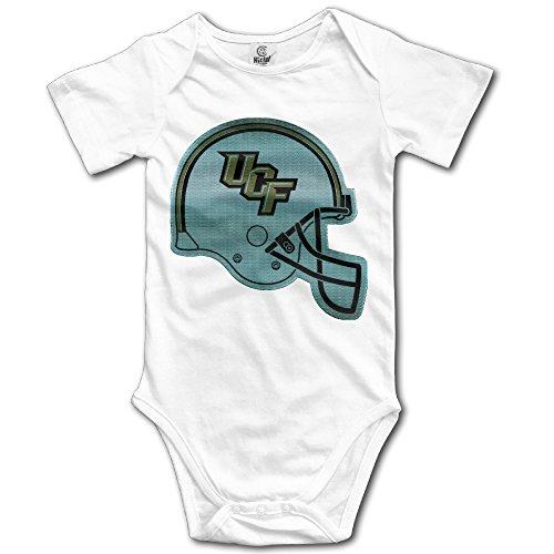 YONYT Custom Central Florida Golden Knights Helmet Infant Baby Boys Girls Bodysuits