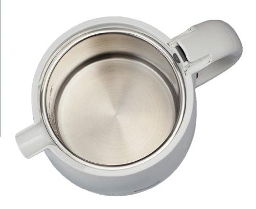 ピーコック 電気ケトル 0.8L ホワイト WAK-08-W