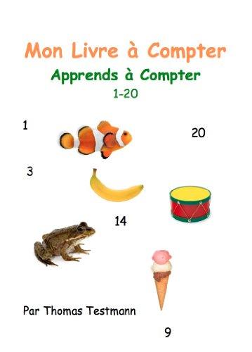 Couverture du livre Mon Livre à Compter : Apprends à Compter (1-20)