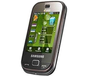 Samsung B5722 Téléphone portable Quadri-bande Bluetooth Double SIM Marron Fonce