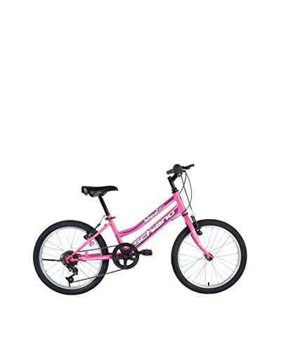 SCH Bicicleta Mtb Integral 20″ 6 V Eco Power Rosa / Violeta
