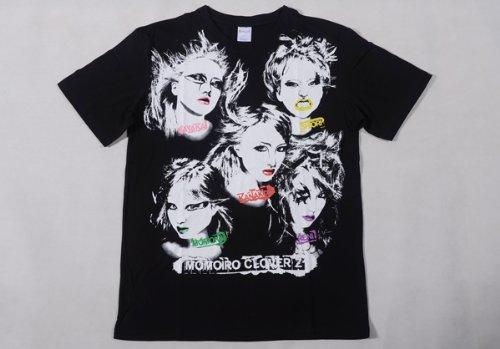 ももいろクローバーZ 公式グッズ Lady-ZのビジュアルTシャツ【ももいろクローバーZ】Mサイズ