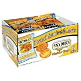 Snyder's Cheddar Cheese Pretzel Sandwich (Pack of 8) 2.12