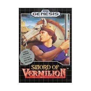 Sword Of Vermilion - Sega Genesis