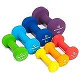 Neopren-Hanteln »Peso« Kurzhanteln in verschiedenen Gewichts- und Farbvarianten