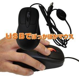 USBでぽっかぽかマウス USBHOT-F2301 USB ぽっかぽか マウス