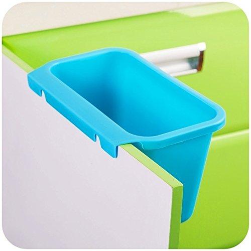 hulisen creative plastic kitchen desktop hanging food waste garbage bowl bin rubbish organizer trash junk box compost pail bin scrap trap3
