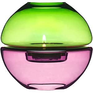 Sagaform 5015253 Small Purple and Green Tealight Holder