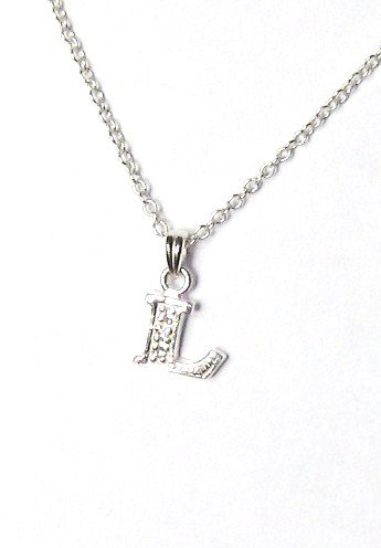 Midor925 925 Sterling Silver Childrens Initial Pendant Necklacemd00162NIn Gift Box