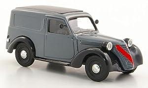 Amazon.com: Fiat 1100 Furgone, grey/black, 1947, Model Car, Ready-made